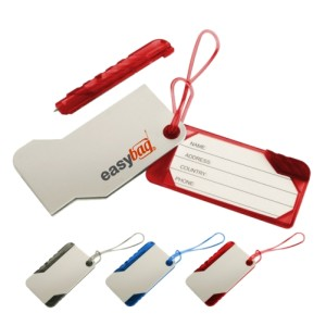 slide luggage tag wholesale price malaysia, good for travellers, corporate gifts penang, premium gifts Malaysia