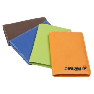 Premium PU leather with multiple colours option for corporate appreciation gifts and marketing gifts. Logo print service available