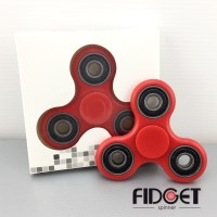 Fidget Spinner Red 3