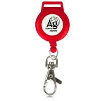 Round Badge Pulley Red