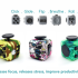 Fidget Cube - 6 Sided Magic Toy that help you to Increase your focus, improve productivity and release stress!