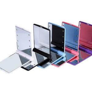 Foldable L.E.D. Mirror 2