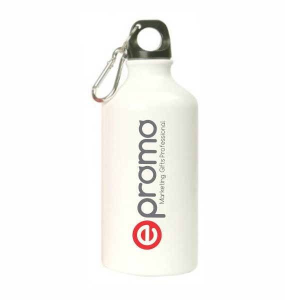 Aluminium Sports Bottle – White