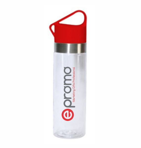 Plastic Drinking Bottle – Red Fika1