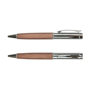 Wooden texture grip metal ball pen – ST-PP-034