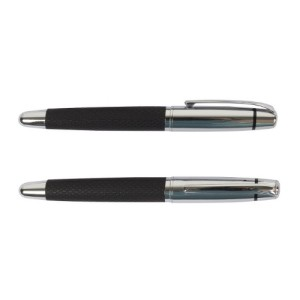 Chrome black metal pen – ST-PP-039
