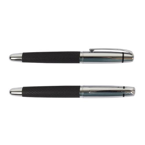 Chrome black metal pen – ST-PP-039