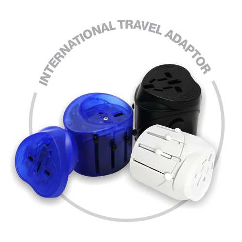 Promotion travel adaptor | TA-002