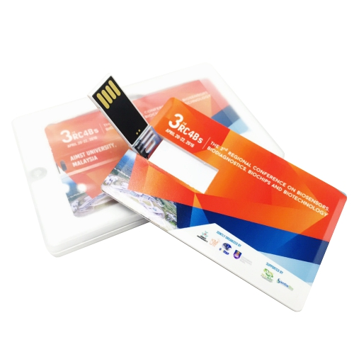 Credit Card USB Flash Drive – Full Colours Print
