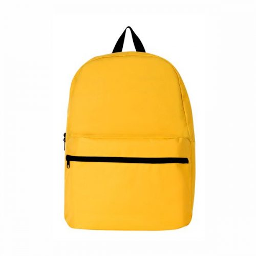 Backpack Plain BP-17001- Yellow