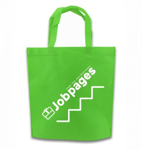 Non Woven Ultrasonic Bag – Green