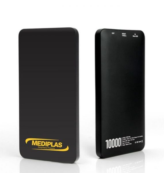 Power Bank Gigo – 10000mAh – Black
