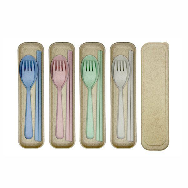 Wheat Straw Cutlery Set- Main