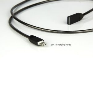 1m 2-in-1 USB Smartphone iPhone Android Charging Cable . EG-C8 1