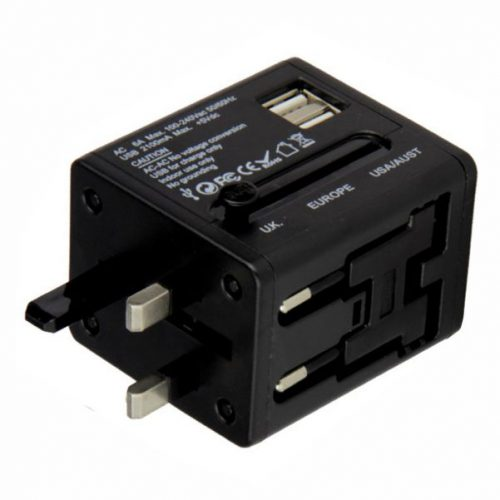 Dual USB Travel Adaptor-B91