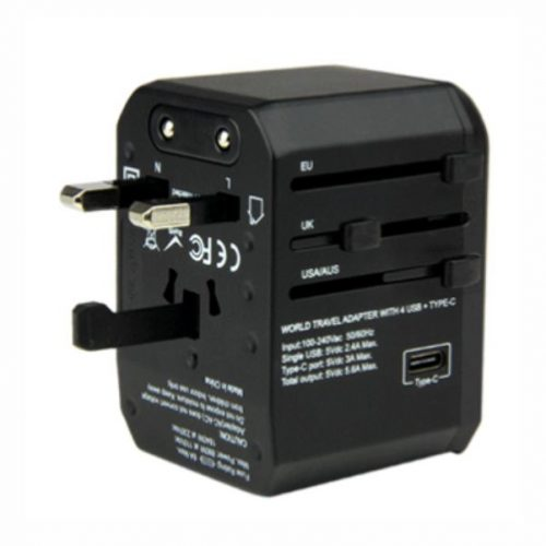 Dual USB Travel Adaptor- EZ450