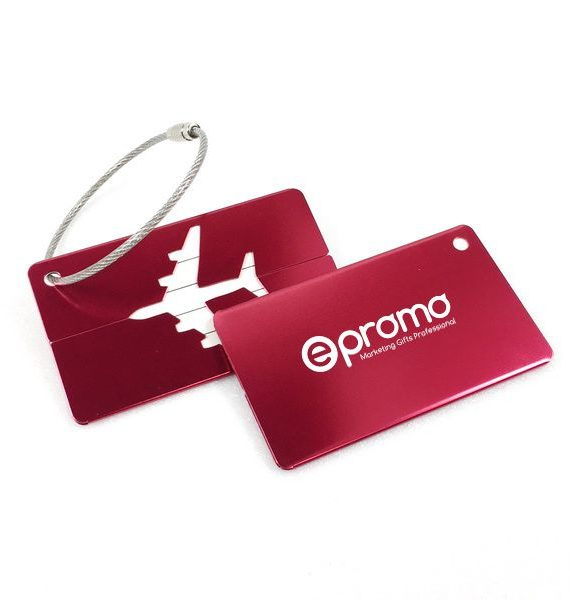 Luggage Tag Front and Back