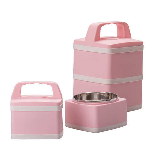 2 Tiers Stainless Steel Lunch Box – ES-119