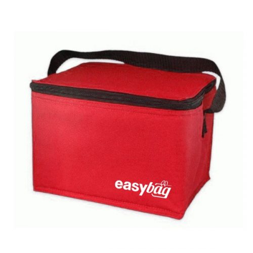 cooler bag red colour