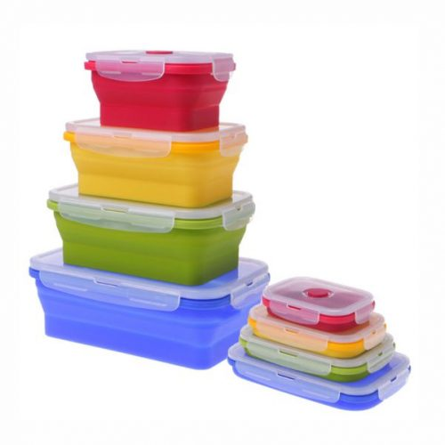 Collapsible Food Container Malaysia- 4 in 1