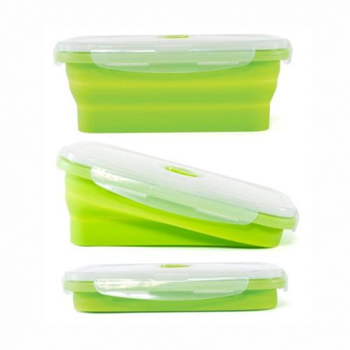 Collapsible Food Container Malaysia- Green Colour