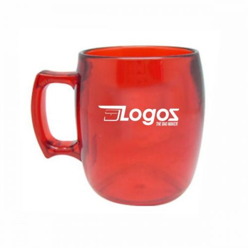 Shatter Proof Mug-Red