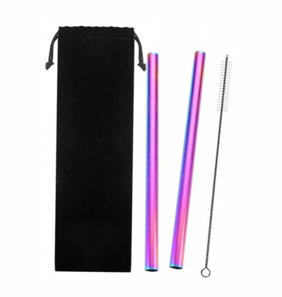 Stainless Steel Straw Big – Package1